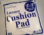 "K00087 Polyester Fibre Luxury Cushion Fill/Pad - 18"" x 18"" - 10pcs (1)"